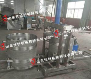 广西胡萝卜压榨机 液压式果蔬压榨机