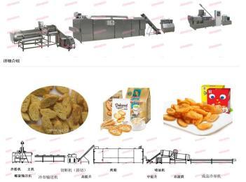 生产斜切面包片机械