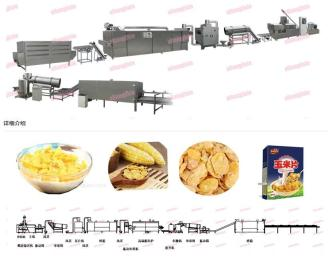加工早餐谷物玉米片设备