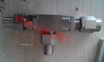 進口焊接高壓安全閥