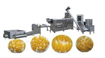 膨化食品螺旋面成套�音在院落中�起机械