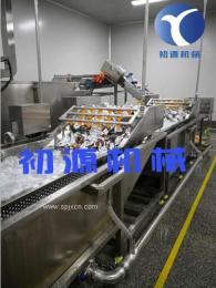 新一代包装袋清洗风干线厂家 洗袋流水线价格图
