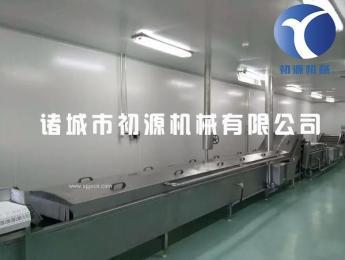 廠家直銷大蝦漂燙殺青流水加工線可定制