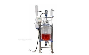 實驗室雙層玻璃反應釜