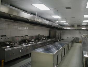 长沙厨房设备、抽油烟罩制作安装