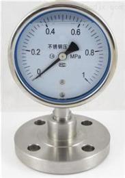 Y-100B/Z/MH隔膜表压力表