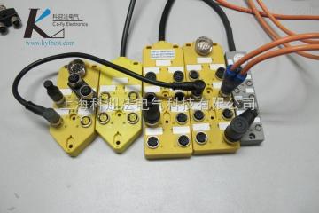 KYF8K-M8-K3-PNP-L3MM8分配器,传感器M8分线盒(Co-fly)