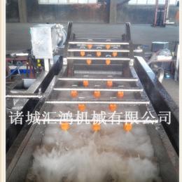 HQL-4000甜玉米果蔬预处理加工生产线 果蔬清洗机