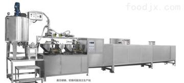 BC-450真空糖果伺服浇注生产线