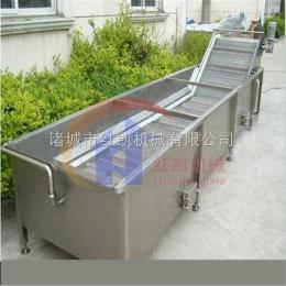HK-2000红凯生产大型海鱼冻品解冻流水线