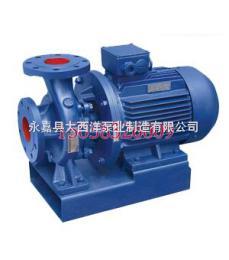 ISW型离心泵,卧式离心泵,卧式管道离心泵,单级单吸离心泵