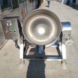 500L粽子电加热蒸煮锅 玉米毛豆可倾式夹层锅