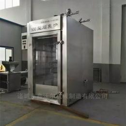 YX-300培根火腿烟熏炉 四川腊肉烟熏设备