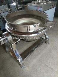 600L600L蒸汽加热牛肉牛排夹层锅 驴肉蒸煮设备