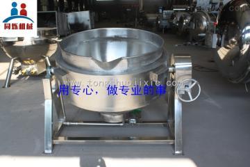 600L-B供应优质不锈钢燃气夹层锅炒锅
