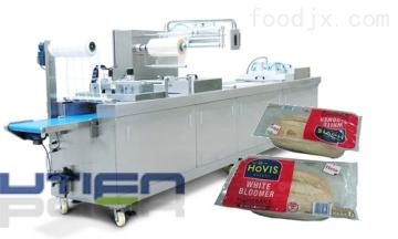 DZL-420R面包全自动拉伸膜真空包装机