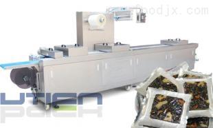 DZL-420R阿胶糕全自动拉伸膜包装机