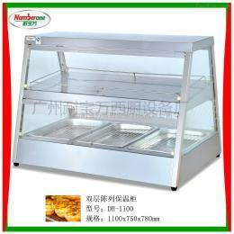 DH-1100双层陈列保温柜/快餐设备/美式快餐设备/炸鸡陈列柜