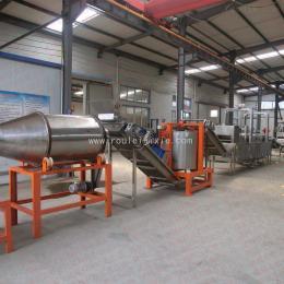 SYL-4000小型油炸食品生产线 膨化食品油炸线