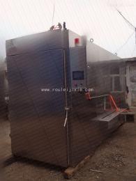 SYX-1000通道式两门四车烟熏炉木粒发烟外置发烟器
