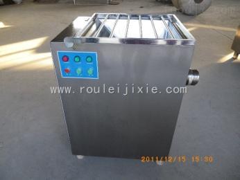 SDJR100冻鸡肉绞肉机使用方法