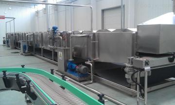 FGPL400大罐连续喷淋杀菌机