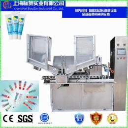 bz-100性价比zui高zui新zui全进口零部件双色牙膏灌装机