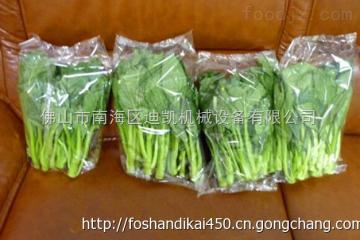 DK-360X佛山迪凯生产厂家供应DK-450 蔬菜托盒全自动包装机水果枕式包装机