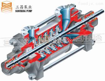 DG155-30*8長春鍋爐循環泵廠家DG155-30*8鍋爐循環泵參數 三昌泵業廠家直銷