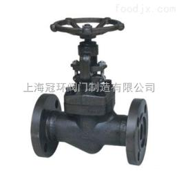 上海冠环J41Y高温高压锻钢截止阀,上海阀门厂