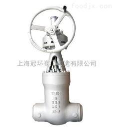 上海冠環Z61Y美標高壓電站閘閥,上海閥門廠