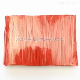 4mmx8cm优质PET扎丝橙色彩带面包糕点包装袋捆扎扎口扎带