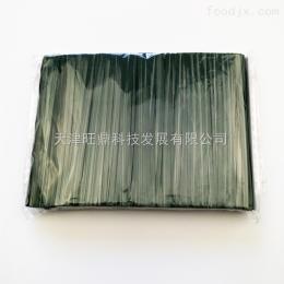 4mmx8cm优质PET扎丝绿色彩带面包糕点包装袋捆扎扎口扎带