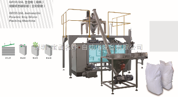 GFCG/25L全自動(粉料)給袋式包裝機組(立體螺旋)