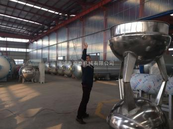 600L安泰机械供应蒸汽立式600L不锈钢夹层锅