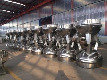 500L蒸汽立式500L不锈钢夹层锅