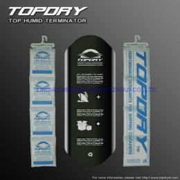 H1000TOPDRY POLE倉庫干燥劑供應商 集裝箱用條干燥劑