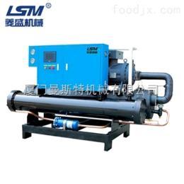 石狮冷水机 菱盛机械 工业冷水机 LS-100WSCS水冷式螺杆机
