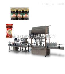 ks全自動辣椒醬灌裝生產線|全自動辣椒醬灌裝機