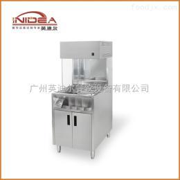 ISTZ-10英迪尔厂家批发直销1米台式薯条保温柜 展示柜 炸鸡汉堡店设备