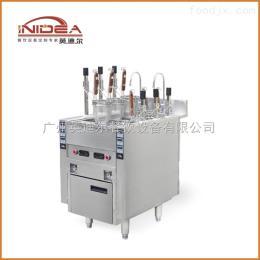 IZML-6-ZD 煮面炉英迪尔 商用小型多功能立式六孔自动升降电热煮面炉 自动煮面炉