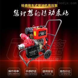SHL44TGP无需接电4寸高扬程铃鹿柴油机混流泵
