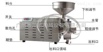【水冷五谷杂粮磨粉机】-广州旭朗机械设备有限公司