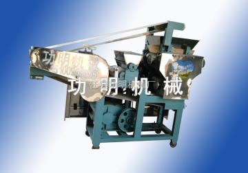 140型功明全自动包子皮机,大饼机,专业饺子皮机厂家