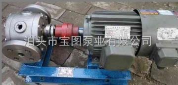 YCB-G2.5/0.6购买不锈钢保温圆弧齿轮泵找泊头宝图泵业,专业生产