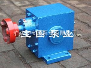 ZYB2/3.6精工制造的泊头ZYB增压燃油齿轮泵厂家--宝图泵业