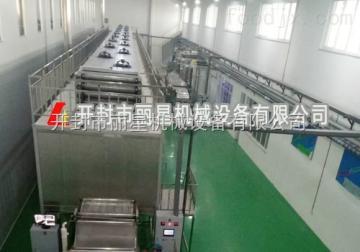 丽星大型粉条加工设备高自动精准的控制系统
