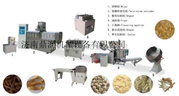 DSE沙拉片沙拉條機械設備