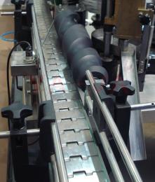 直线链板输送机出售精品优质 可定制 直线链板