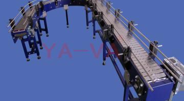转弯链板输送机输送机 链板输送机 链板输送线